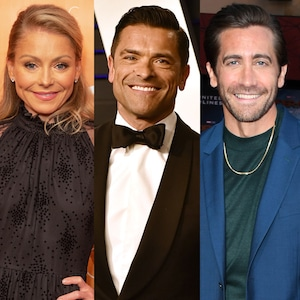 Kelly Ripa, Mark Consuelos, Jake Gyllenhaal