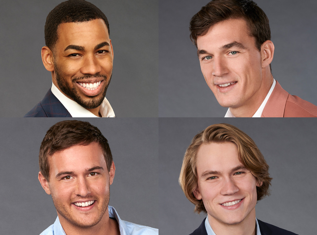 Tyler Cameron, Mike Johnson, Peter Weber, John Paul Jones, The Bachelorette