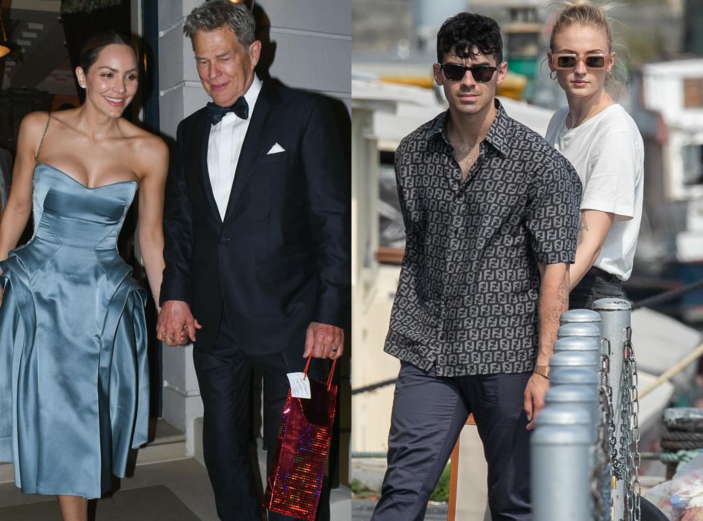 Katharine Mcphee, David Foster, Joe Jonas, Sophie Turner