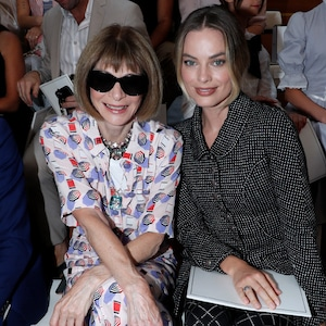 Anna Wintour, Margot Robbie, Paris Fashion Week