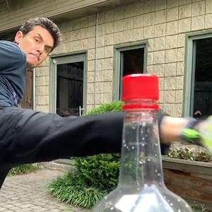 John Mayer, #BottleCapChallenge