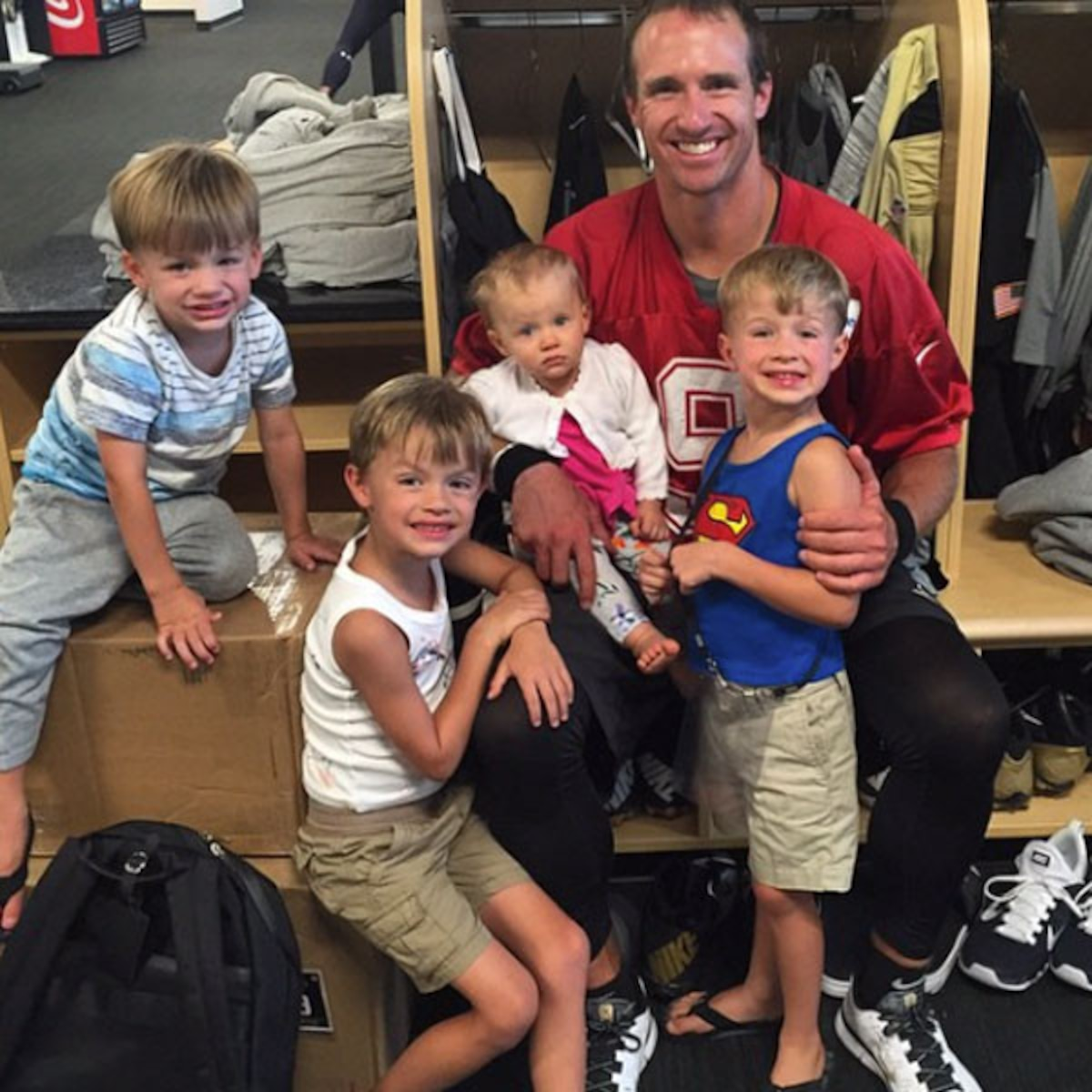 Drew Brees Many Adorable Family Moments E News