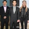 Johnny Depp, James Franco, Amber Heard