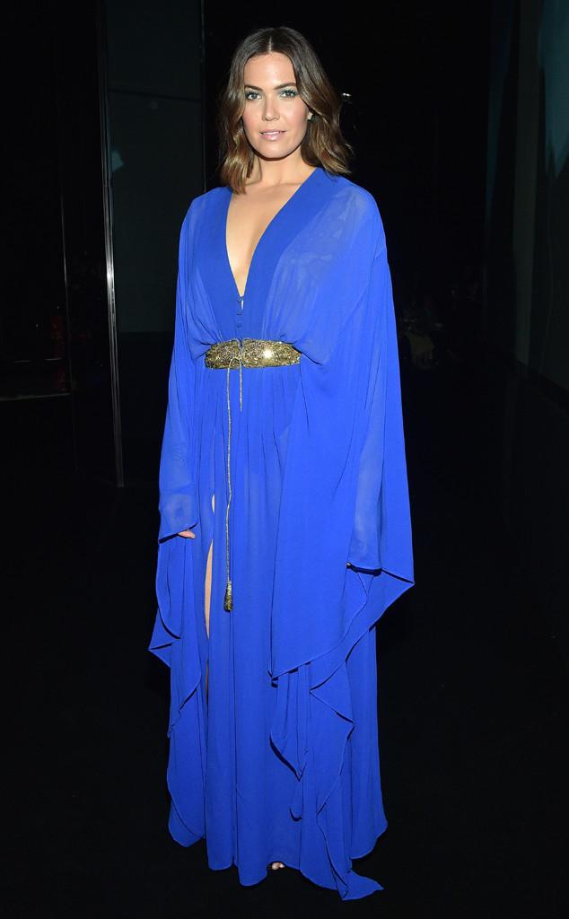 Mandy Moore, Paris Fashion Week