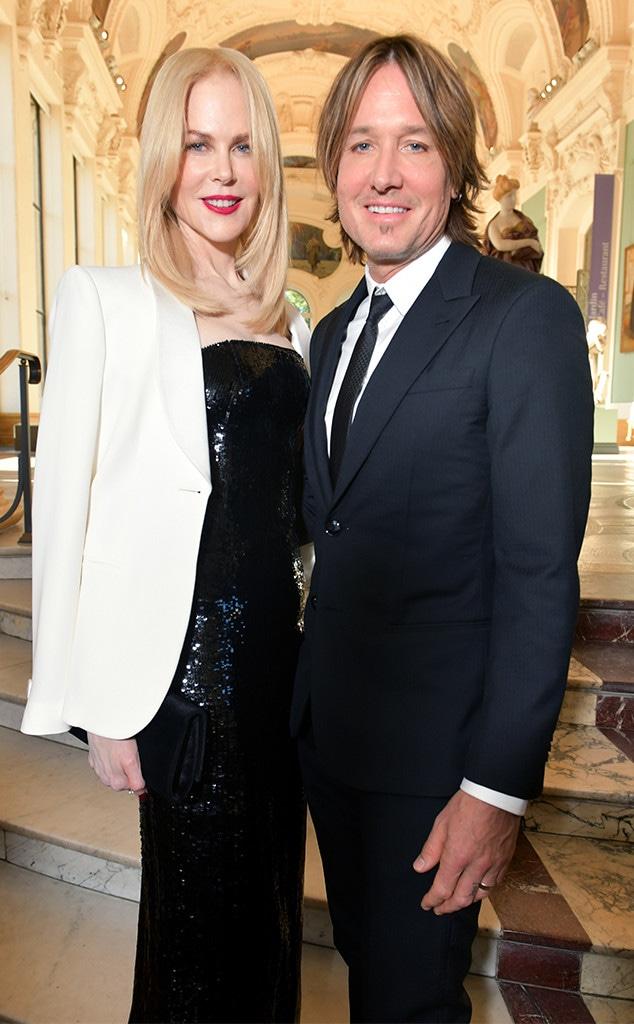Nicole Kidman, Keith Urban, Paris Fashion Week, Giorgio Armani Prive Haute Couture Fall/Winter 2019 2020