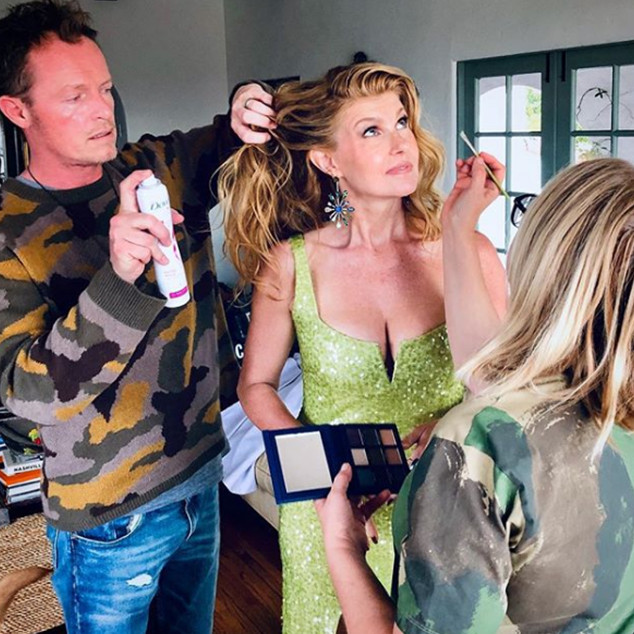 E-comm: How To Get Laura Dern's Big Little Waves - Creighton Bowman Instagram