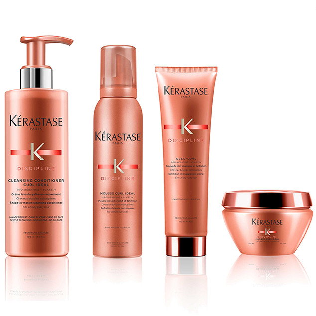 E-comm: How To Get Laura Dern's Big Little Waves - Kerastase Discipline Curly Hair Line