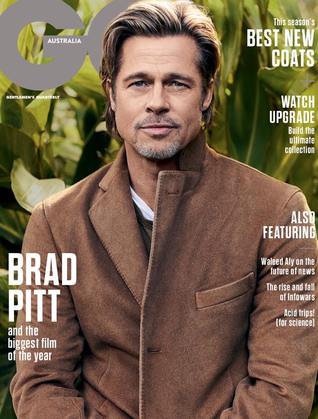 Brad Pitt, GQ, GQ Australia