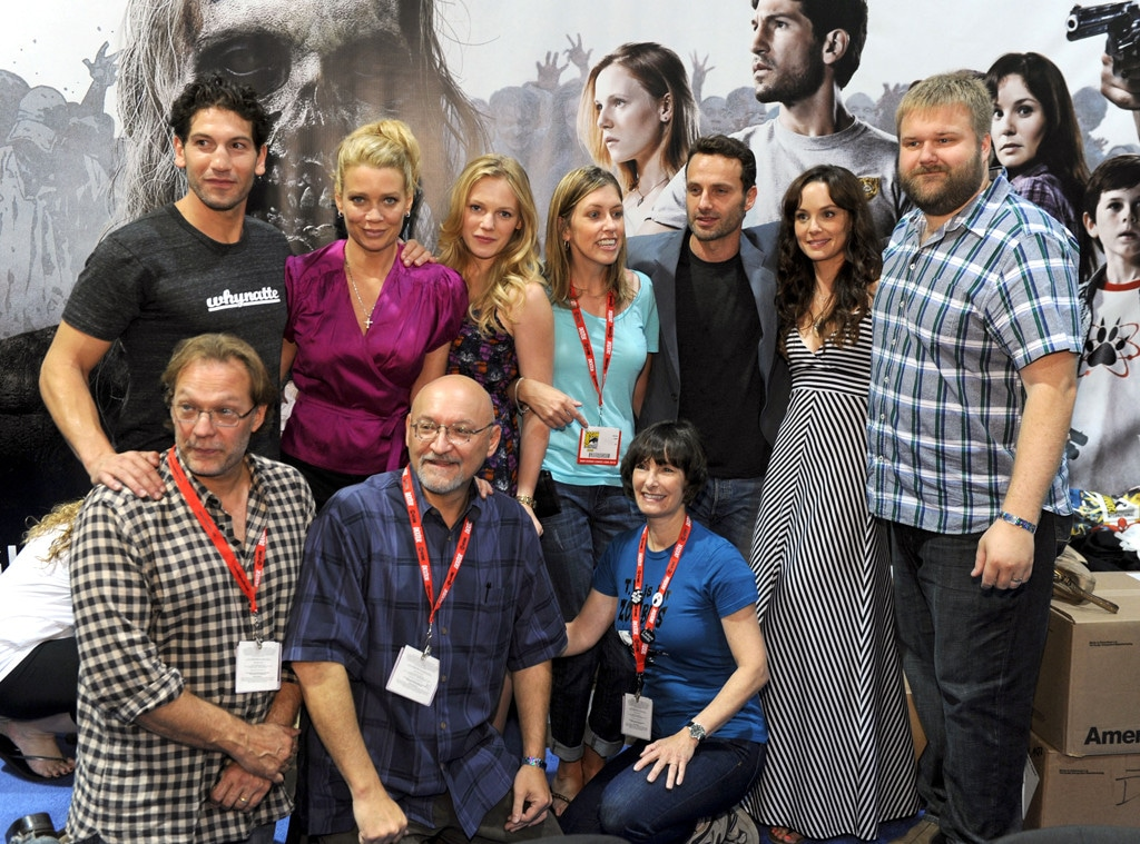 Andrew Lincoln, Sarah Wayne Callies, Jon Bernthal, Laurie Holden, Robert Kirkman, Greg Nicotero, The Walking Dead, Comic-Con 2010