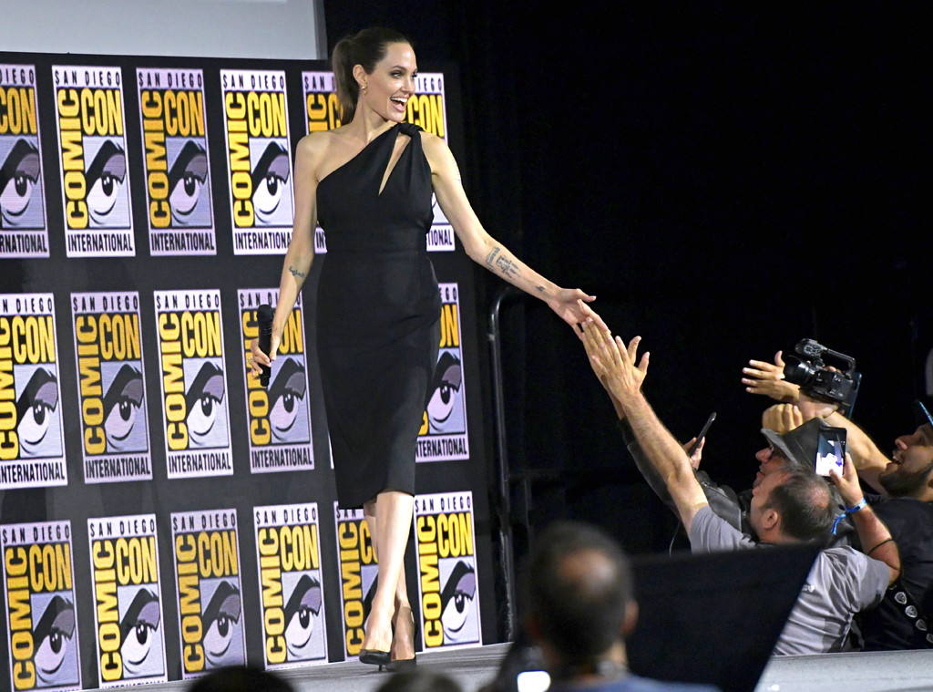 Angelina Jolie, Comic-Con 2019