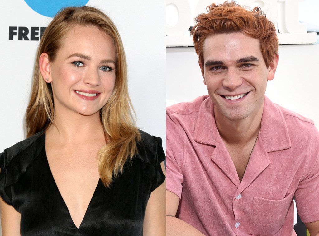 KJ Apa and Britt Robertson Pack on the PDA at Comic-Con 2019 Party