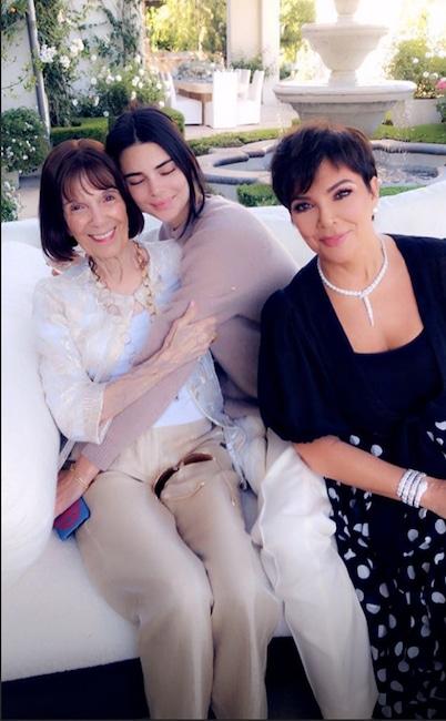 Kris Jenner, Kendall Jenner, MJ, Birthday, Instagram