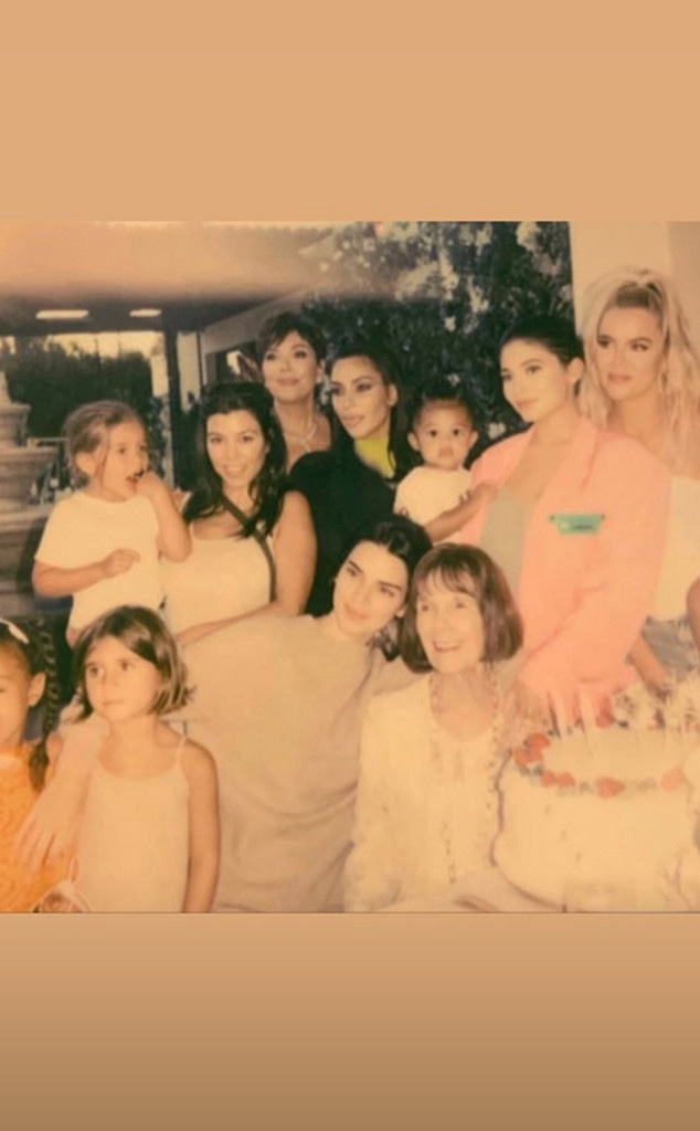 Kardashian, Jenner, Family, MJ, Birthday