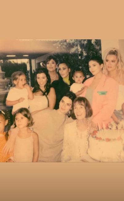 Kardashian, Jenner, Family, MJ, Birthday