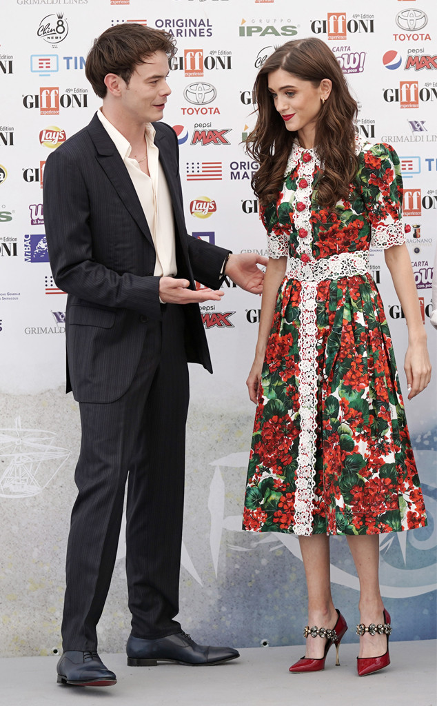 Natalia Dyer and Charlie Heaton Are Picture Perfect at ...