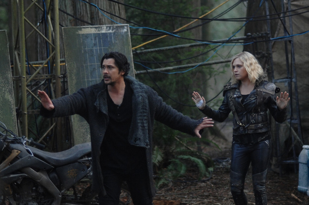 The 100, Eliza Taylor, Bob Marley, Richard Harmon