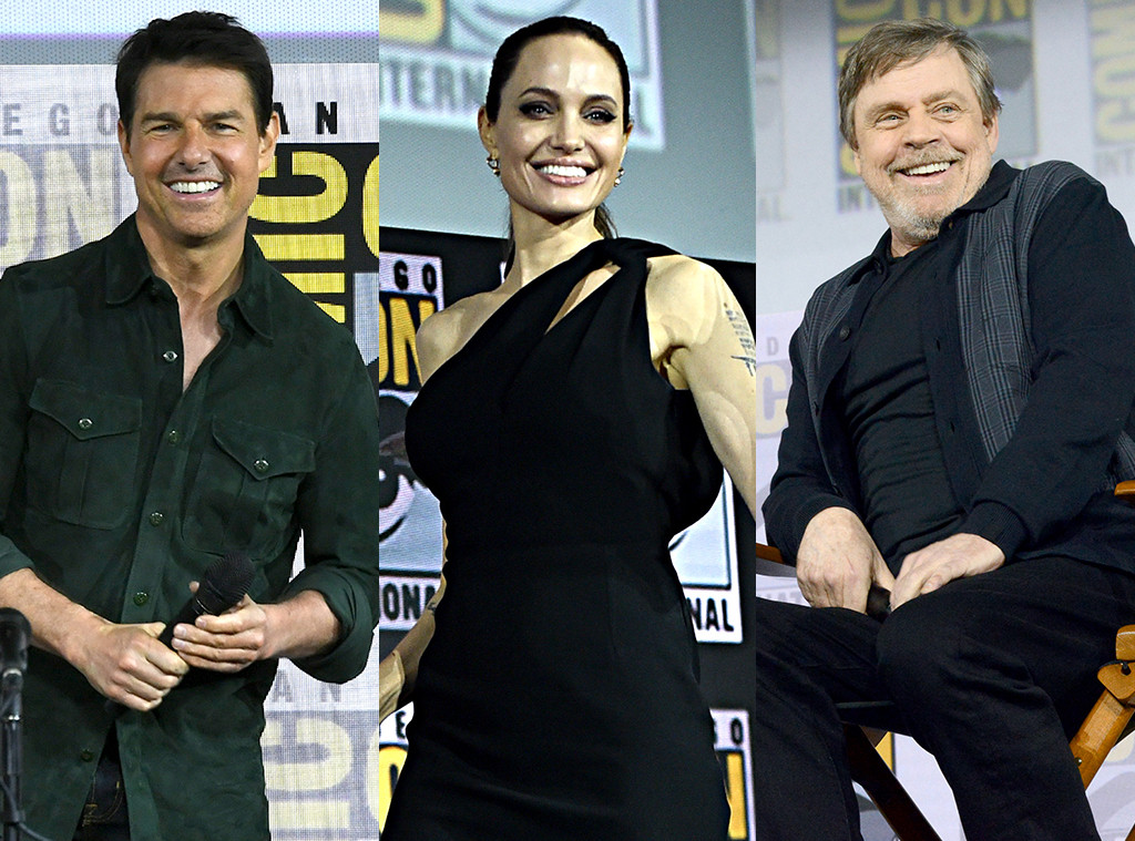 Tom Cruise, Angelina Jolie, Mark Hamill, 2019 Comic-Con