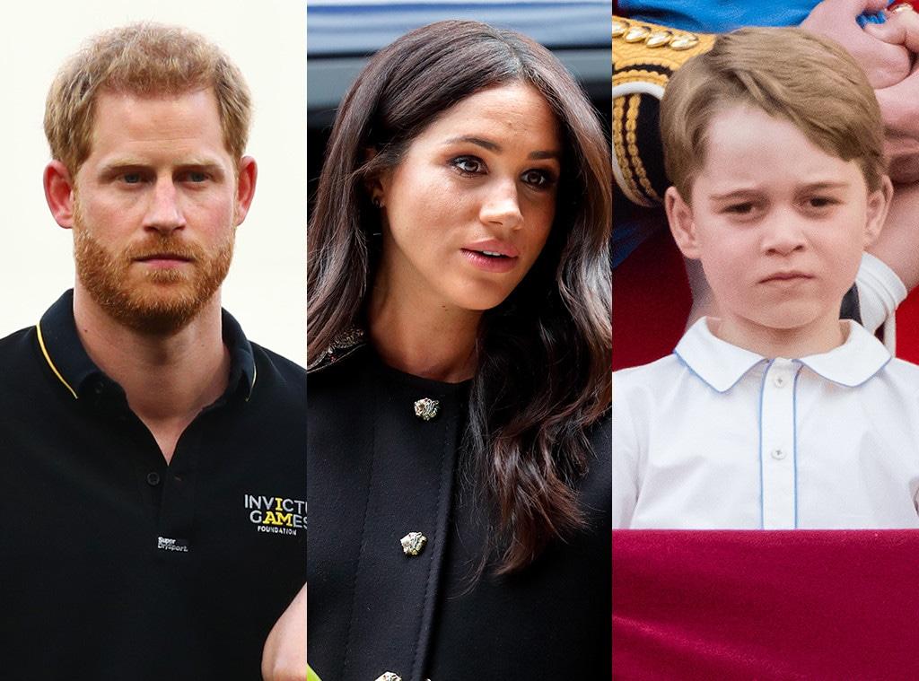 Prince Harry, Meghan Markle, Prince George