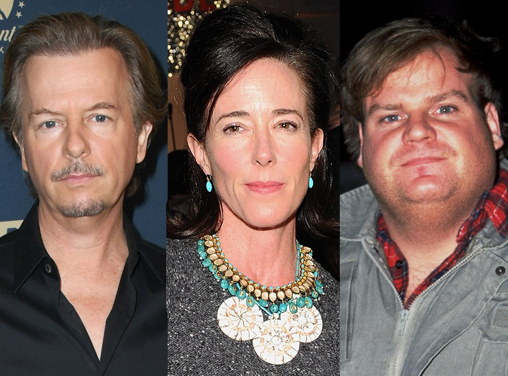David Spade, Kate Spade, Chris Farley