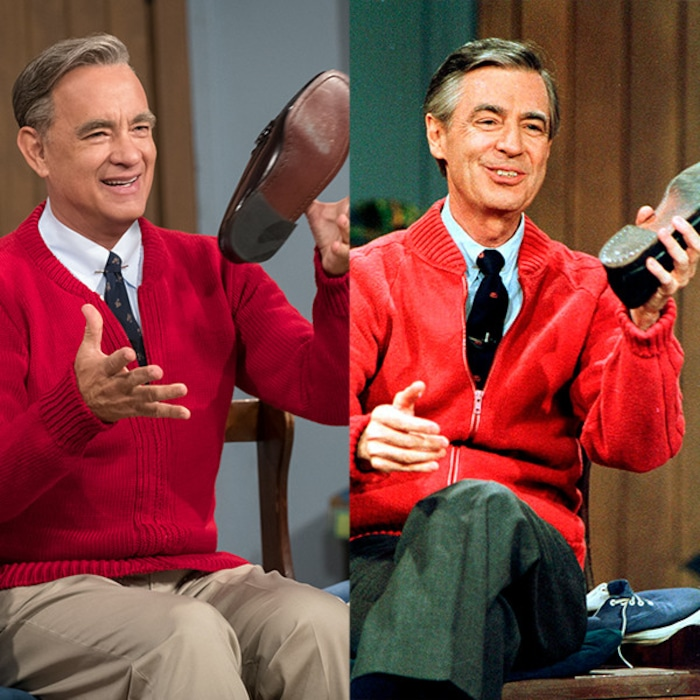Proof Tom Hanks Is Actually Mister Rogers E Online