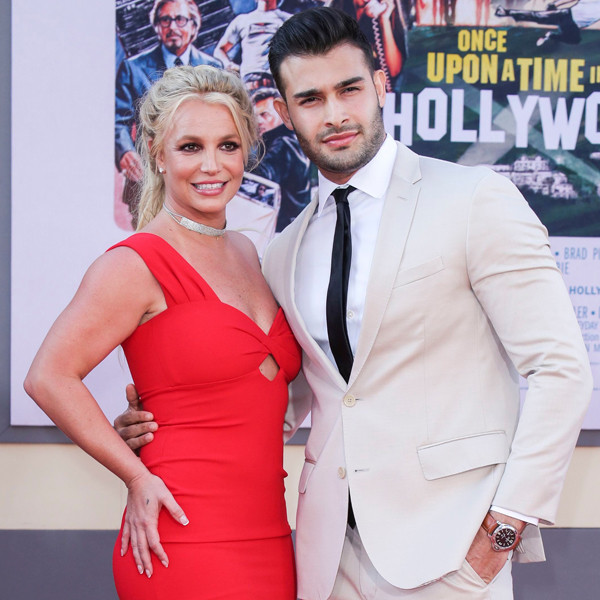 Britney Spears Gets All the Love and Support From Sam Asghari After Revealing Her Trust Issues