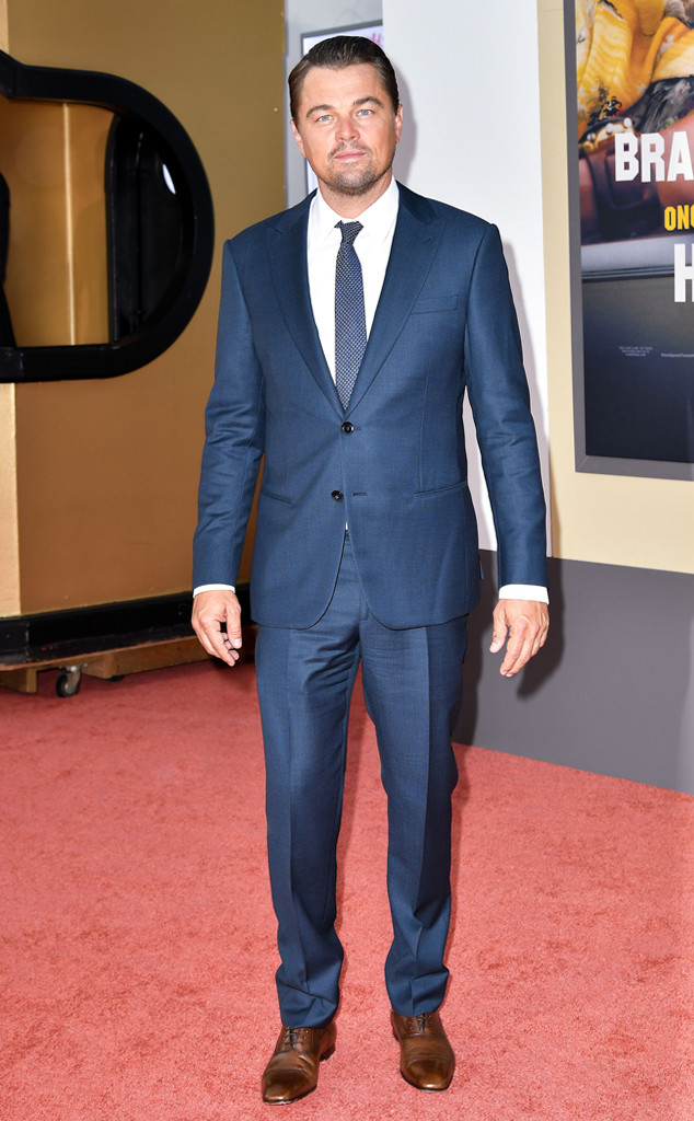 Leonardo DiCaprio, Once Upon a Time in Hollywood Premiere, Red Carpet Fashion