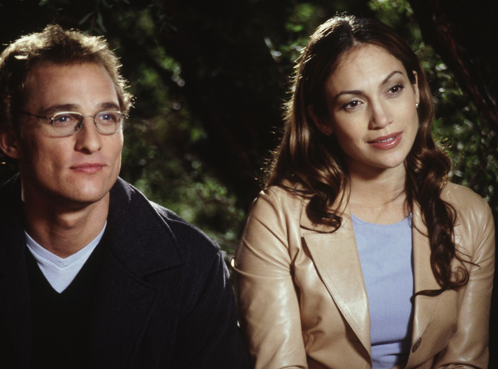 Matthew McConaughey, Jennifer Lopez, The Wedding Planner