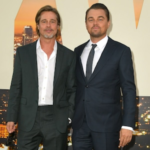 Brad Pitt, Leonardo DiCaprio, Once Upon a Time in Hollywood Premiere, Red Carpet Fashion