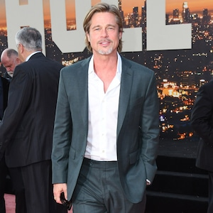 Brad Pitt, Once Upon a Time in Hollywood Premiere, Red Carpet Fashion