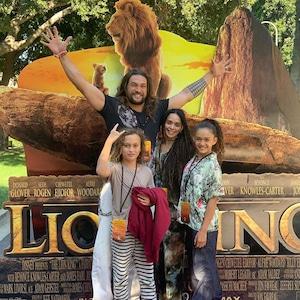 Jason Momoa, Lisa Bonet, Kids