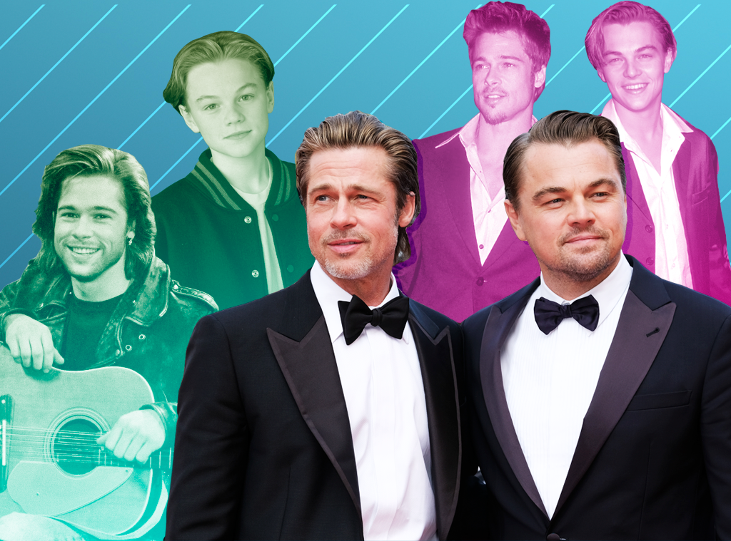 Brad Pitt, Leonardo DiCaprio, How the Last Two Movie Stars Finally Came Together