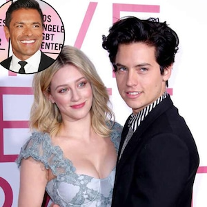 Cole Sprouse, Lili Reinhart,  Mark Consuelos