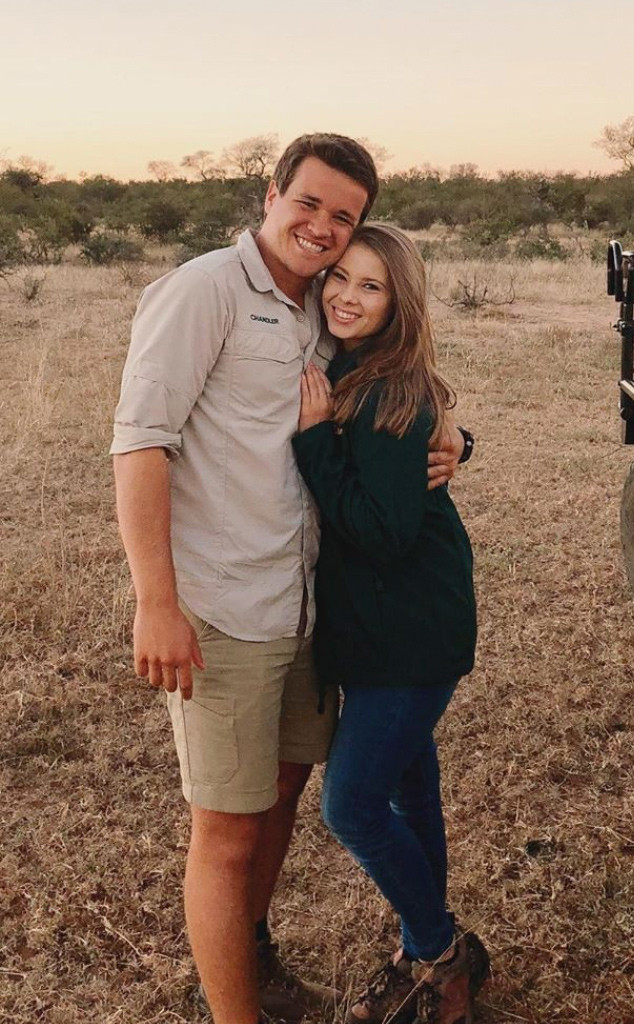 Bindi Irwin, Chandler Powell