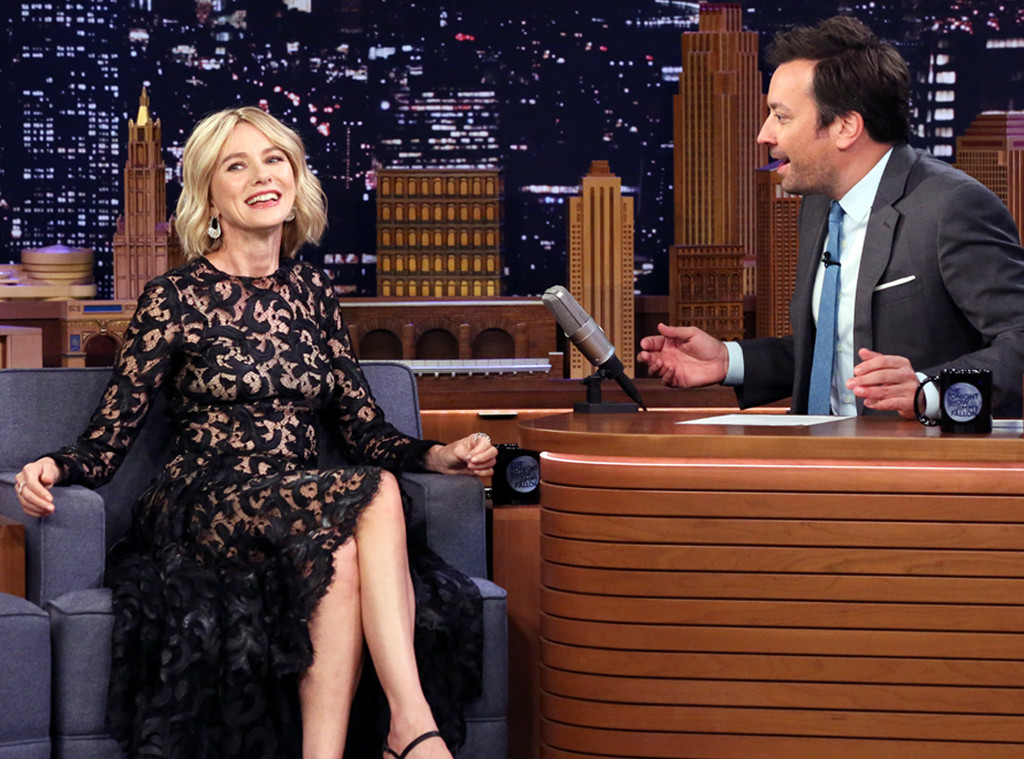 Naomi Watts, The Tonight Show, The Tonight Show Starring Jimmy Fallon