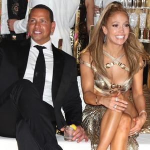 Alex Rodriguez, Jennifer Lopez, 50th Birthday Celebration