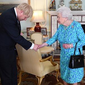 Queen Elizabeth II, Boris Johnson, Meghan Markle, Prince Harry, Prince William, Kate Middleton