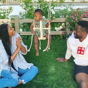 Gabrielle Union, Dwyane Wade, Daughter, Kaavia James, Instagram