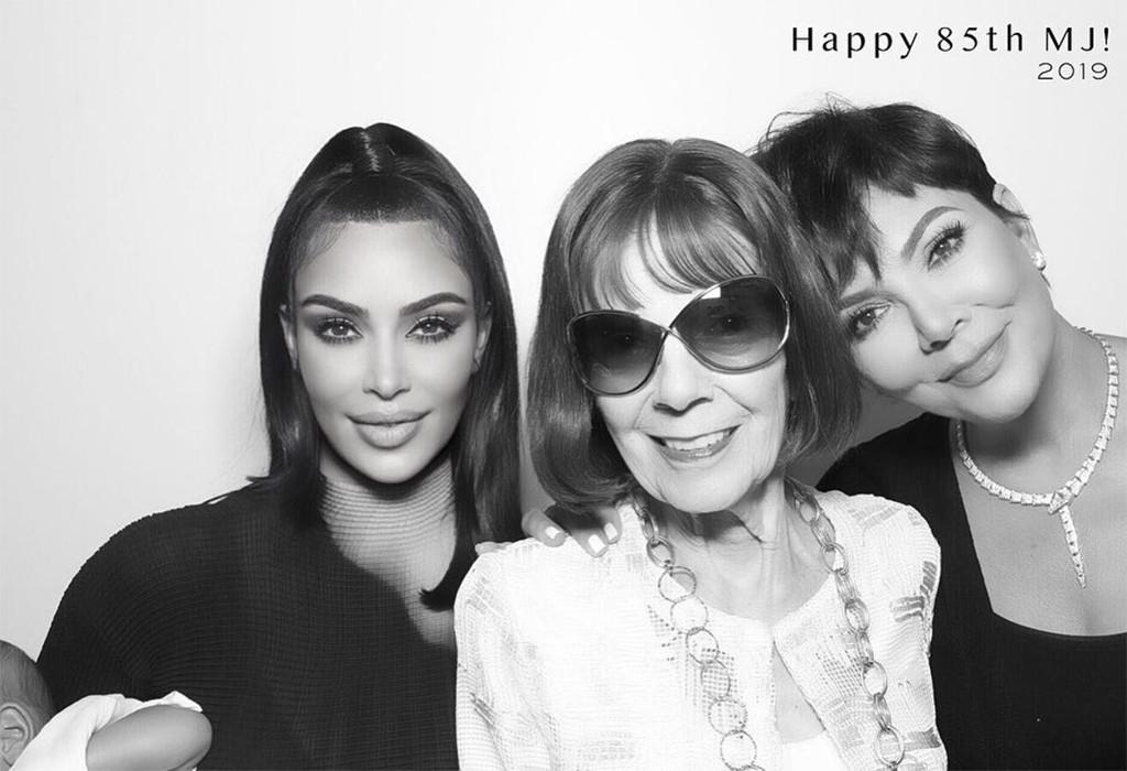 Kim Kardashian, Grandma, Kris Jenner, MJ, Birthday, Instagram