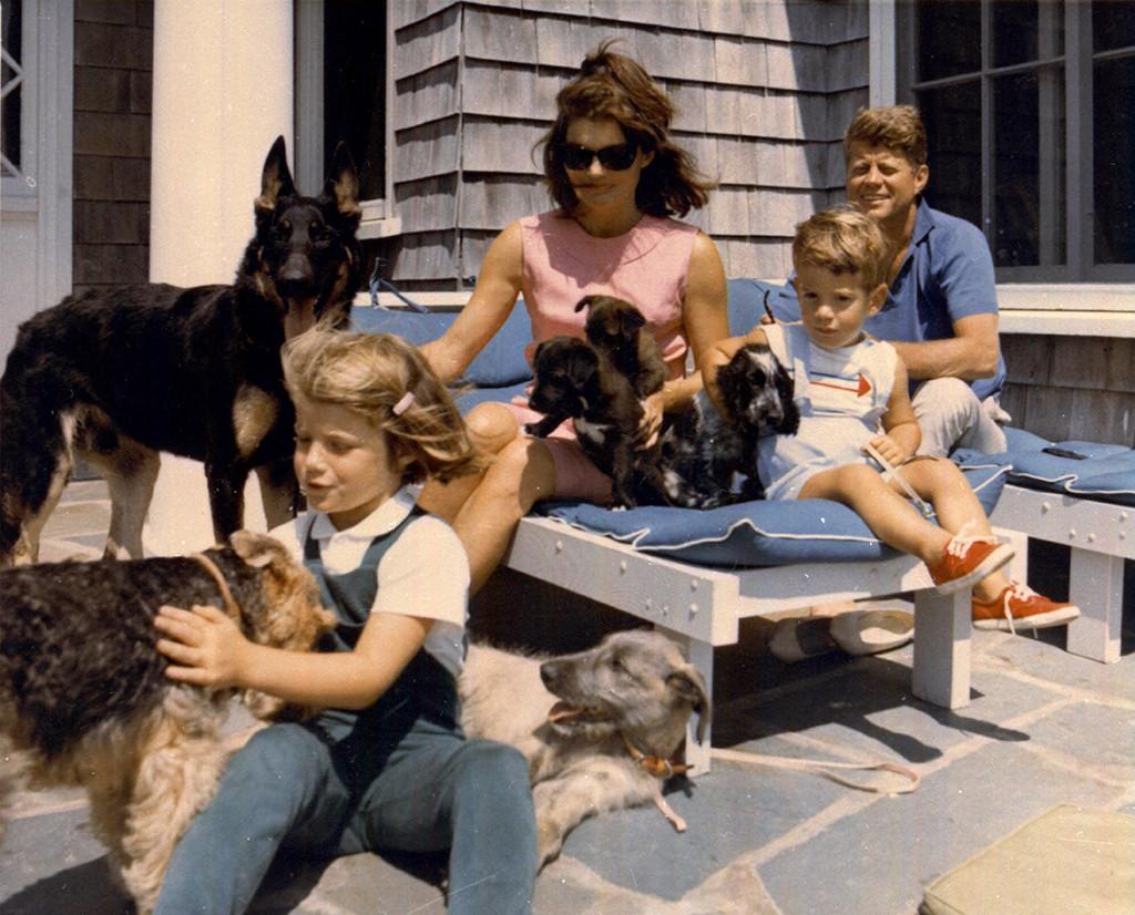 John F. Kennedy Jr., Jacqueline Kennedy, John F. Kennedy, Family