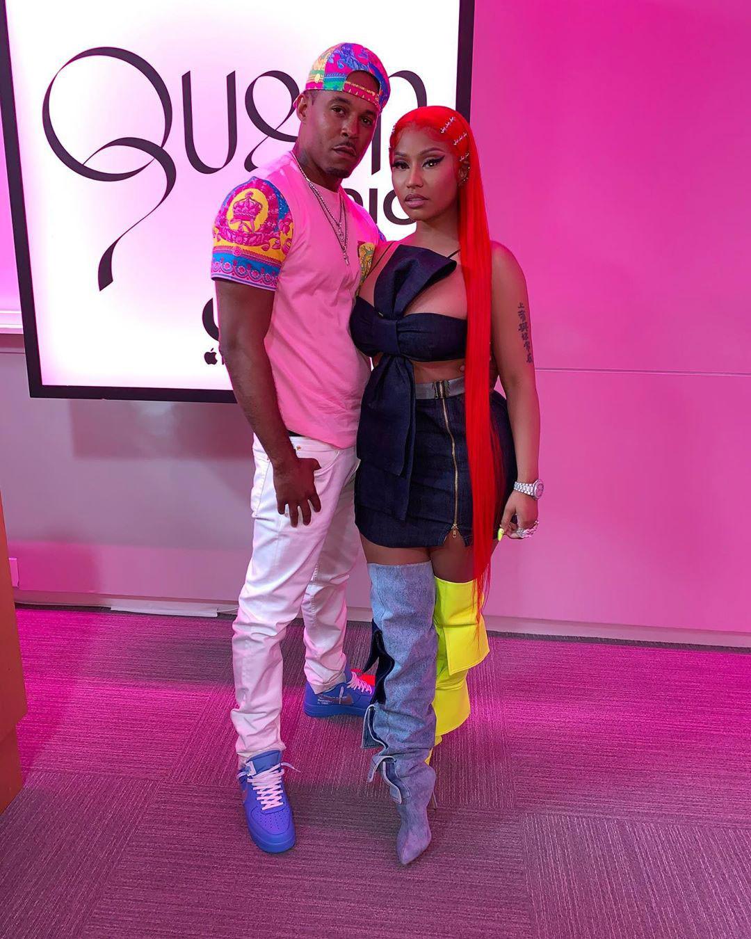 Nicki Minaj, Kenneth Petty