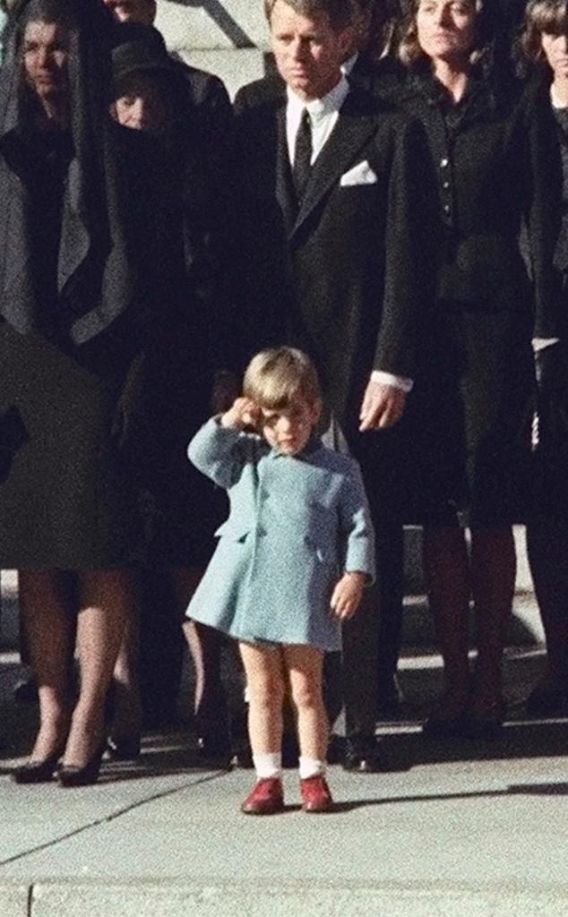 John F. Kennedy Jr., Salute