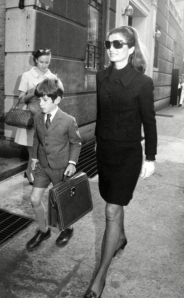 John F. Kennedy Jr., Jacqueline Kennedy