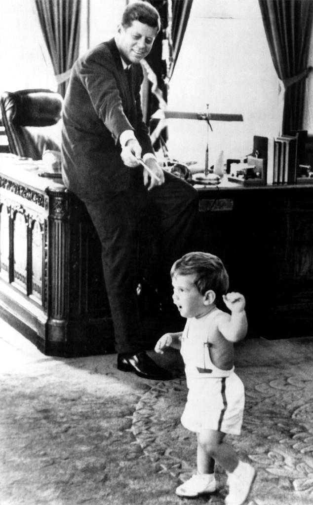 John F. Kennedy Jr., John F Kennedy, White House