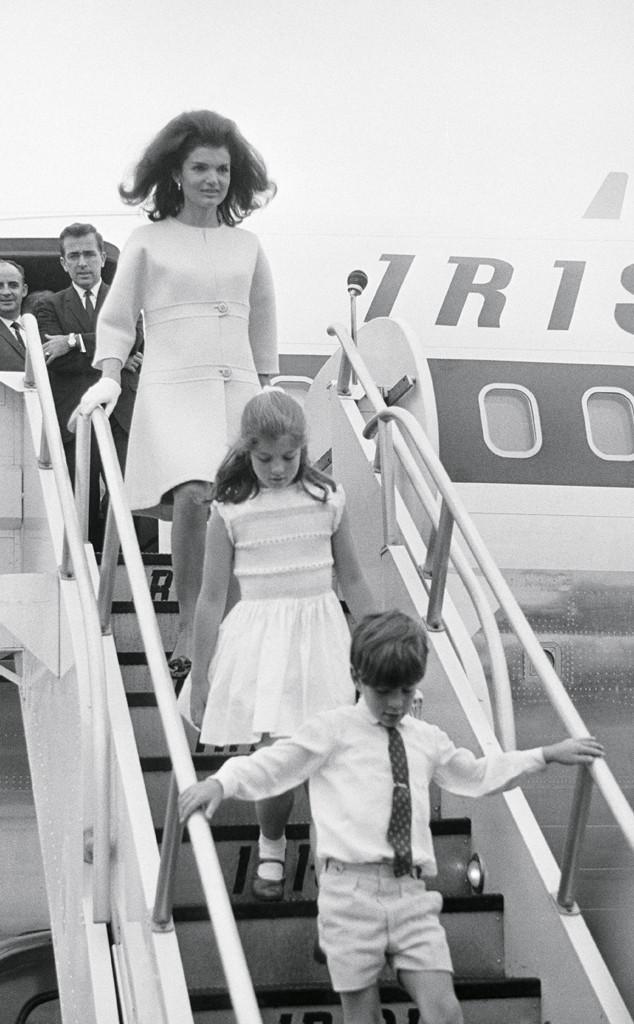 Jacqueline Kennedy, Caroline Kennedy, John F. Kennedy Jr.