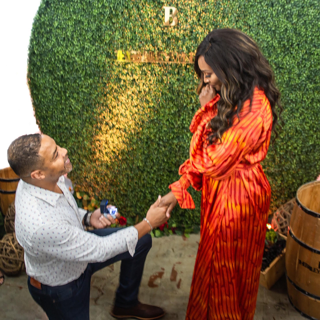 Cynthia Bailey, Mike Hill, Engagement