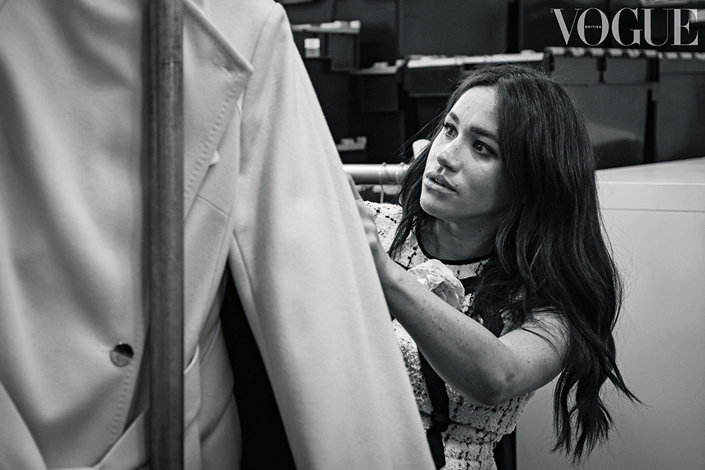 Meghan Markle, Kensington Palace, for British Vogue