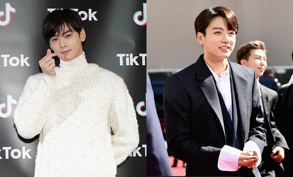 Cha Eun-Woo, BTS, Jungkook