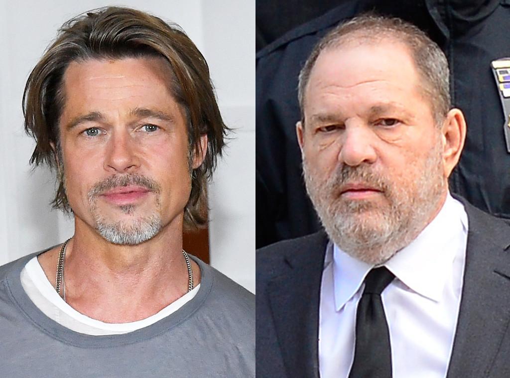 Brad Pitt, Harvey Weinstein