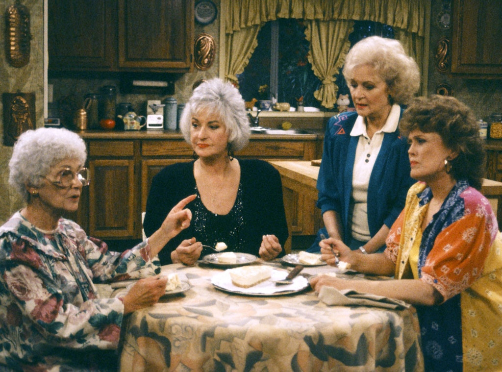 Estelle Getty, Bea Arthur, Betty White, Rue McClanahan, Golden Girls