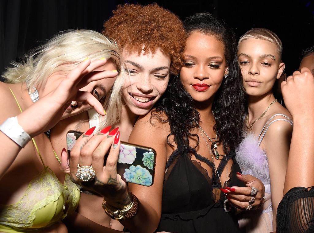 Stella Duval, Carissa Pinkston, Rihanna, India Graham